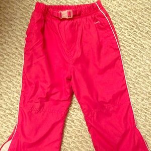 Fleece-lined snow pants, 2T